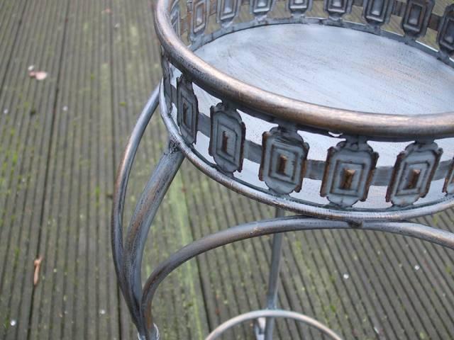 blumentisch beistelltisch blumenst nder eisen 74 cm. Black Bedroom Furniture Sets. Home Design Ideas