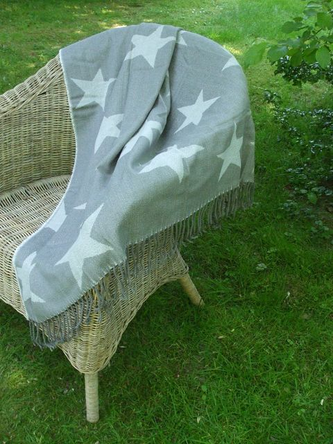 decke sterne sofadecke kuscheldecke sessel berwurf. Black Bedroom Furniture Sets. Home Design Ideas