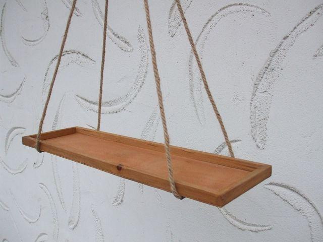 rechteckiges h ngeregal k chenh nger holz 65 cm. Black Bedroom Furniture Sets. Home Design Ideas