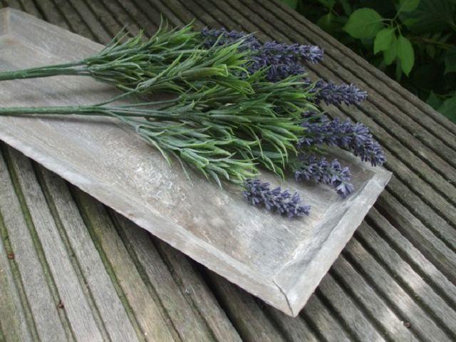 Details zu Lavendelzweige , Dekoration, Provence, Kräuterdeko, 33 cm ...