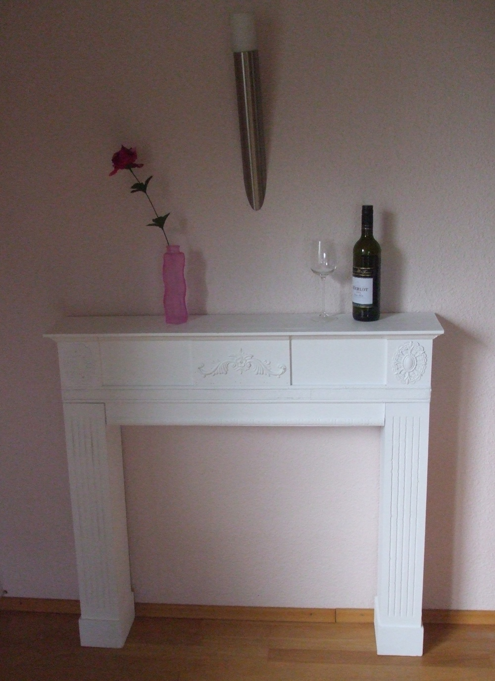 wundersch ne kaminkonsole kaminumrandung wandkonsole. Black Bedroom Furniture Sets. Home Design Ideas