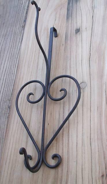 dekorativer t rhaken kleiderhaken garderobenhaken eisen landhaus impression. Black Bedroom Furniture Sets. Home Design Ideas