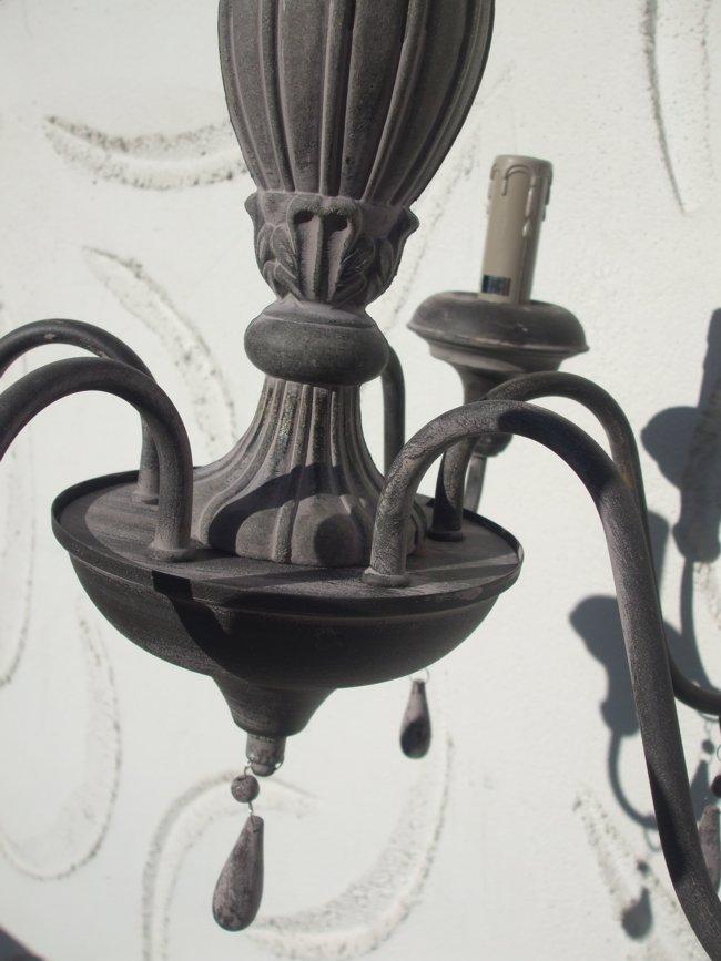 traumhafter elektrischer kronleuchter h ngeleuchter deckenlampe landhausstil ebay. Black Bedroom Furniture Sets. Home Design Ideas