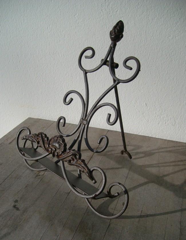 Dekorative Buchst/ütze Kochbuchst/änder,Buchhalter,Notenst/änder Eisen