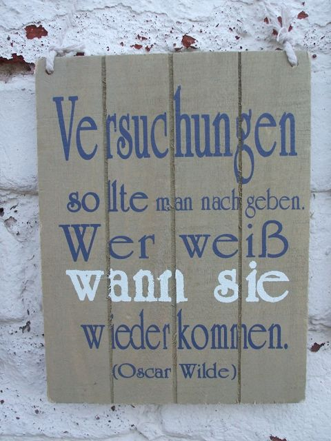 dekorative holzschilder wandbild 3er set spruch zitate. Black Bedroom Furniture Sets. Home Design Ideas