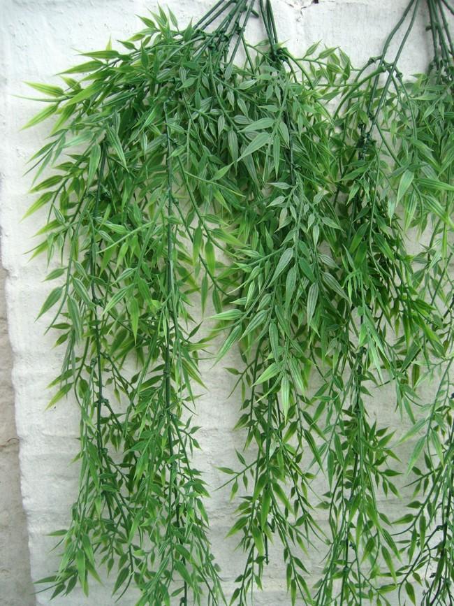 Bambusstrach 2 st ck kunstpflanze mediterrane dekoration for Mediterrane dekoration