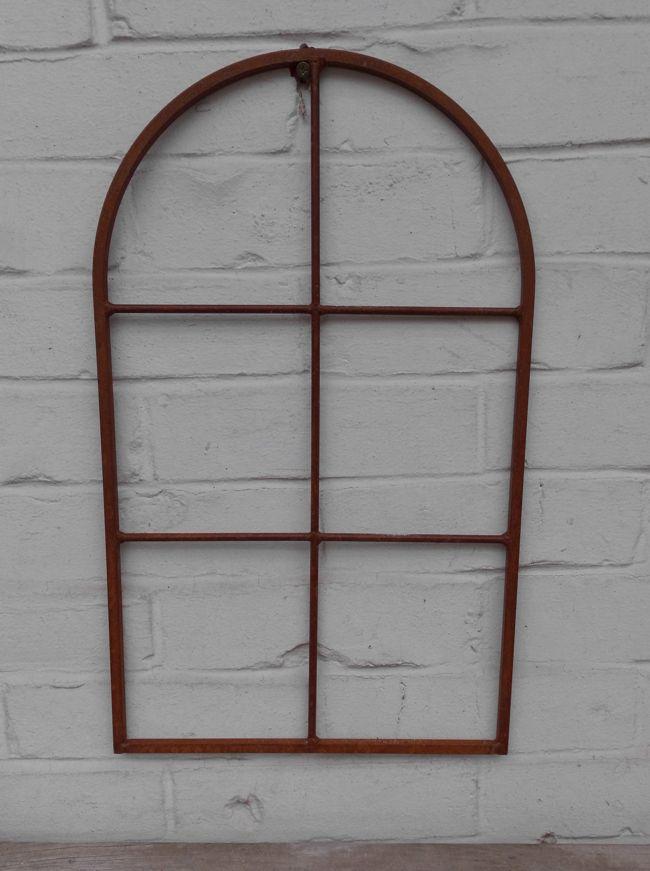 Fenster Sprossenfenster Bilderrahmen Wanddekoration Eisen Rost massiv